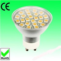 5W Gu10 SMD LED Spotlight with glass cover