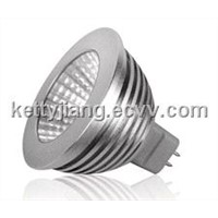 5W led spotlight with MR16 base