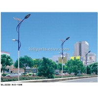 60W double-holder solar street light