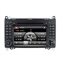 "7"" in-dash touchscreen car dvd player with gps for Mercedes B200"