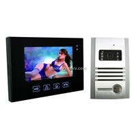 7 Inch Touch Screen Video Doorphone+ Metal Camera