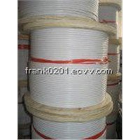 7x7 PVC/Nylon Coating Wire Rope /Cable