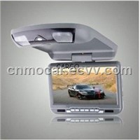 "9"" Car Roof Mounted DVD Player"