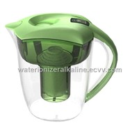 Alkaline Water Pitcher Filter & Ionizer! Comes with Extra Replacement Filter!