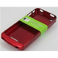 Backup battery case/external battery cover for iphne4/4s 2300mAh