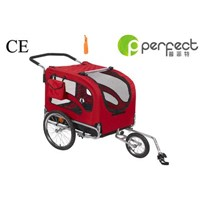 Bicycle Pet Trailer with Two Side Windows