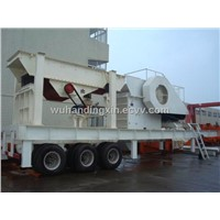 Big Crushing Ratio  Mobile Crusher