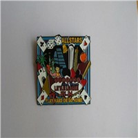 Big Iron Stamped Soft Enamel Lapel Pin