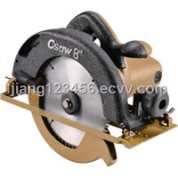 Circular saw with good-quality motor housing