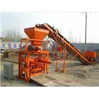 Concrete Hollow Brick Making Machine (QT 40-1)
