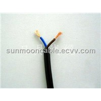 Copper Conductor PVC insulated PVC jacketed electric cable