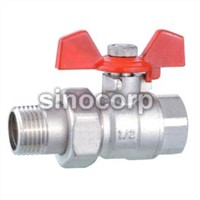 Copper Male Ball Valve