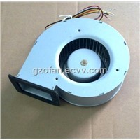 DC centrifugal blower with external rotor motor 154*138*58mm
