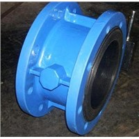DF206 Double flange butterfly valve