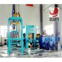 DY1250 automatic hydraulic pressure brick production line