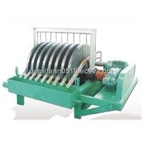 Disc magnetic tailings recovery machine