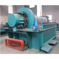 Disc vacuum filter for dewatering solid-liquid