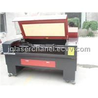 Double-heads co2 laser machine with two laser tubes JQ1290