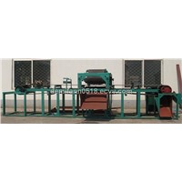Double roller  permanent magnetic dry separator