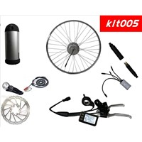 E bike conversion kits bottle battery with LiFePo4