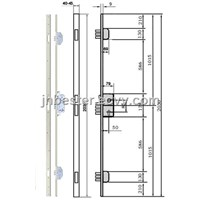 European Profile Mortise Long Lock (Mortise Multi Points Lock) S202