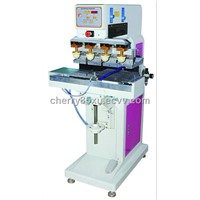 F-P150S4 four color pad printing machine with shuttle