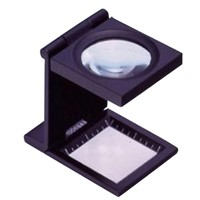 Foldable stand magnifier high magnification loupe