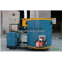 Fuel gas (oil) crucible melting furnace
