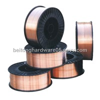 Gas protection welding wire