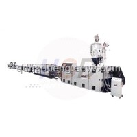 HDPE large diameter gas pipe extrusion machine