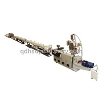 HDPE water /gas supply pipe extrusion line