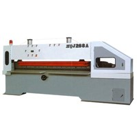 HJ series hydraulic pressure ,air pressure thin wood shearing machine