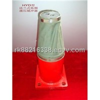 HYD flange low-frequency series hydraulic buffer