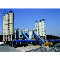 HZS60 ready concrete batch plant