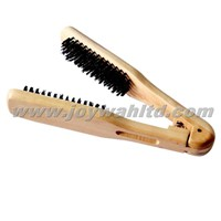 Hair Straight Brush with Pure Bristle