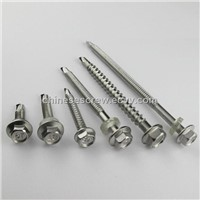 Hex phillips full thread self-tapping screws