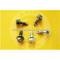 Hex washer self drilling screw