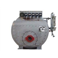 High Pressure Marine Steam Boiler with Water Level Gauge / Water Level Controller