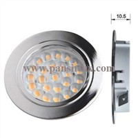 High Quality High lumen thin 24 smd led cabinet light downlight