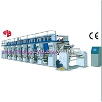 High-Speed Computer Rotogravure Printing Machine
