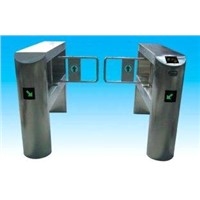 High efficient swing arm barriers with automate prolong time set for indoor, outdoor