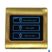 Hotel touch panel,Hotel light switch,Wall switch touch operated
