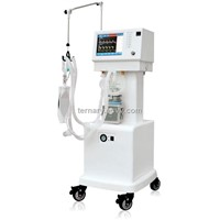 ICU Ventilator with 10.4 TFT Color LCD Display