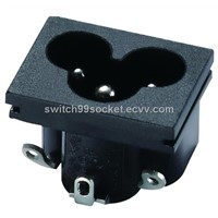 IEC C6 AC Power Inlet