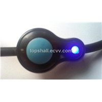 IP68 waterproof self-lock push button switch with cable,led lamp