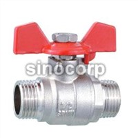 Inner Thread Brass Ball Valve With Drain Off-cock