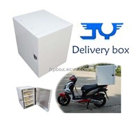Insulated Layer and Clapboard of Motorcycle Sushi Delivery Box