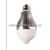 LED Bulb with infrared motion sensor