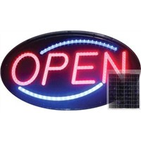 LED Oval Open Sign
