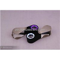 LED & UV Magnifier ,jewellry loupe